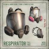[DustyHut] Respirator Mask - Full Face - v1.1