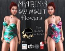 Continuum Marina Bodysuit Flowers- promo