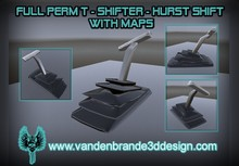 ~Full perm Gear T shifter / hurst shift + Maps Only on marketplace!