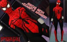 AVATAR MESH SPIDER GIRL / ANIMESH EXAMPLE