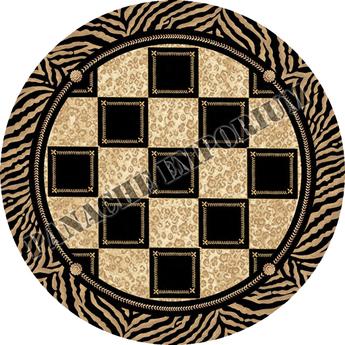 Woven Checkered Rug
