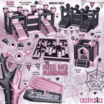 Astralia - Pastel Goth Playground (Black Labyrinth)