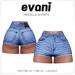 evani. Mircella vintage shorts - blue -