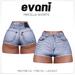 evani. Mircella vintage shorts - grey sky -