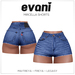 evani. Mircella vintage shorts - navy -
