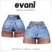 evani. Mircella vintage shorts - sky -