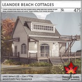 Trompe Loeil - Leander Beach Cottages [mesh]