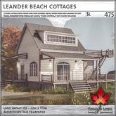 Trompe Loeil - Leander Beach Cottages [mesh]