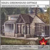 Trompe Loeil - Soleil Greenhouse Cottage [mesh]