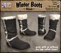 *LightStar - Winter Boots-Black