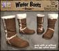 *LightStar - Winter Boots-Brown