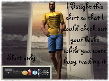 """TSF""Yellow -I bought this shirt so that i could check out your"