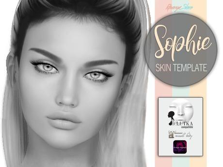 Sophie Skin-Template Lelutka/Maitreya (Omega) DEMO