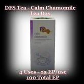 DFS Tea - Calm Chamomile Tea Box