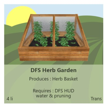 DFS Herb Garden