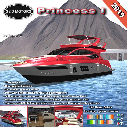 G&D MOTORS Yacht Princess I