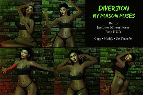 Diversion - My Poison Poses // Bento