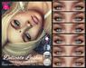 Delicate lashes ad small