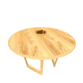 Autumn Collection - Low Wooden Table