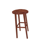 Mahogony Bar Stool