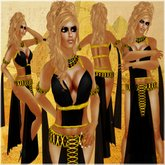 !BH ~ Egypt Outfit 1 Black~Gold!