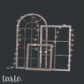 tarte. stacked window frames