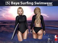 [S] Baye Surfing Swimwear Black
