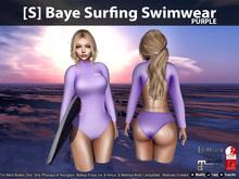 [S] Baye Surfing Swimwear Purple