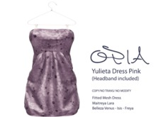 OPIA Yulieta Dress Pink