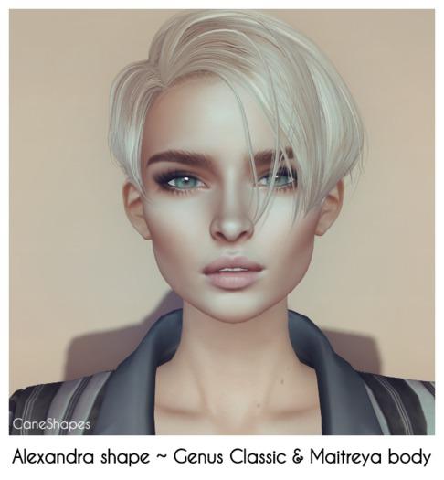 Alexandra Shape for GENUS CLASSIC W001 & Maitreya Body