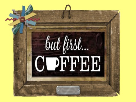 Second Life Marketplace Western Wall Art Decor Kitchen But First Coffee Wood Applied Frame Hang 3d Look Flat Alpha Home Plaque Copy Mod 1 Prim