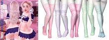 Rebelpill - Unbehaved School Girl Stockings Fatpack ♥  HUD INCLUDES 30 COLORS ♥