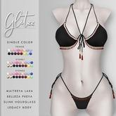 [Glitzz] Zanzi Bikini - Black