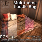 [DDD] Multitheme Cuddle Rug - PG/Lite - Seats 3!
