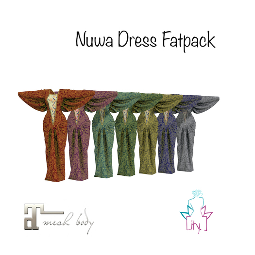 [ity.] China Nuwa Dress Fatpack