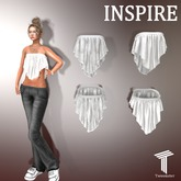 INSPIRE Elegant Silk Tube Top [Tweenster]