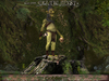 ❃Fantasy Forest Collection :: Goblin on Tree-Stump ::