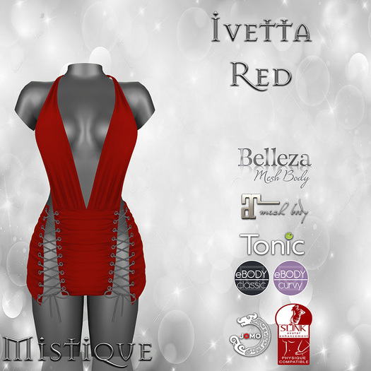 **Mistique** Ivetta Red (wear me and click to unpack)