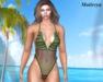 ~PP~ Jungle - Swimsuit Maitreya- Attach To Unpack