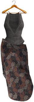 [Vips Creations] - Original Mesh Outfit - [Pandora]3 - Maitreya - Boho Outfit