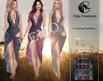 [Vips Creations] - DEMO - Original Mesh Outfit  - [Pandora]-Boho Outfit