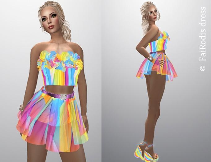 FaiRodis Happy Rainbow skirt complete  pack