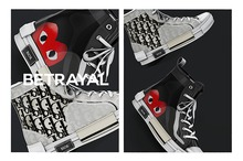 BETRAYAL. Oblique Canvas Sneakers UNISEX FATPACK w/ EXCLUSIVES