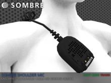 Sombre Shoulder Mic