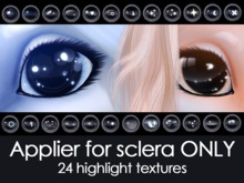 Happy Paw - Applier for sclera 24 highlight textures