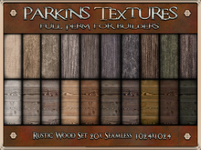 Parkins Textures - Rustic Wood Set - BOXED