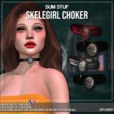 SUM STUF - Skelegirl Choker