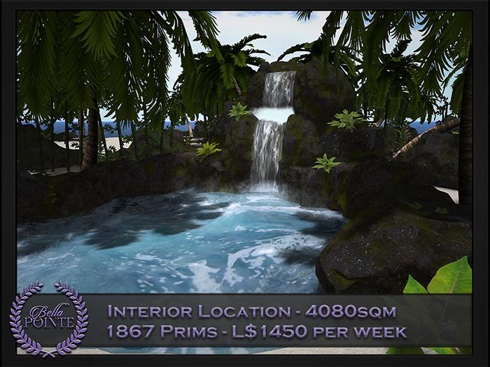 50% MORE PRIMS!! - INTERIOR 4080 SQM - 1875 PRIMS - L$1450