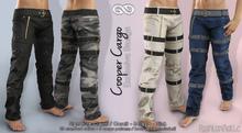 COOPER FATPACK Male Cargo Pants MESH - SIGNATURE GIANNI - GERALT, SLINK, BELLEZA JAKE - FashionNatic