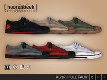 Kursk Sneakers - Full Pack - Signature Gianni & Geralt, Belleza Jake, SLink Physique & CA